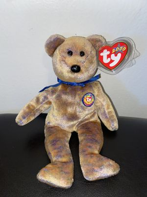 Rare Vintage Original Ty beanie buddies - clubby bear iii for Sale in Lakewood, CA