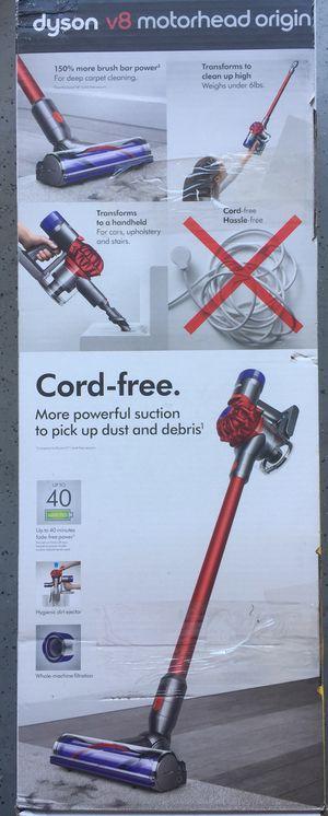 Brand New ! Dyson V8 Motorhead Origin Vacuum ! Cordless Handheld Vacuum Cleaner ! Dyson Vacuum Cleaner ! for Sale in Chino Hills, CA