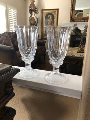 Crystal vases 2 for Sale in Poway, CA