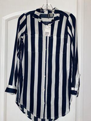 Beautiful NEW shirt dress! for Sale in Gallatin, TN