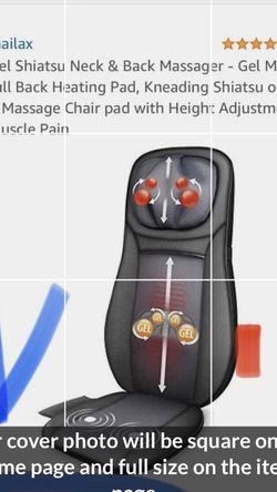 Snailex Shiatsu Back & Neck Massage New! for Sale in Peoria,  AZ