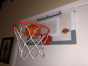 Spalding NBA Slam Jam Over-The-Door LAKERS Team Edition Basketball Hoop for Sale in Fontana, CA