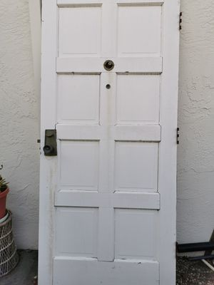 free Real wood front door 36x80 Need Four hands to carry for Sale in Fremont, CA