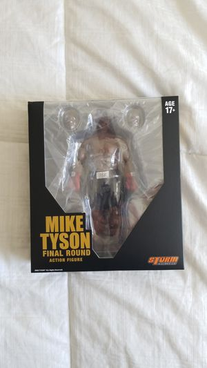 Rare Collectable NEW Mike Tyson Final Round Action Figure by Storm Collectibles for Sale in Santa Ana, CA