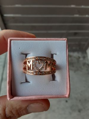 $75.00 obo Chain heart mom charm and mom ring for Sale in Tampa, FL