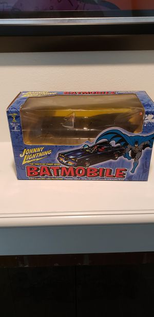 Vintage Johnny Lightning 1960's DC Comic Books 1:24 Diecast Batmobile Replica. UNOPENED! for Sale in Kent, WA