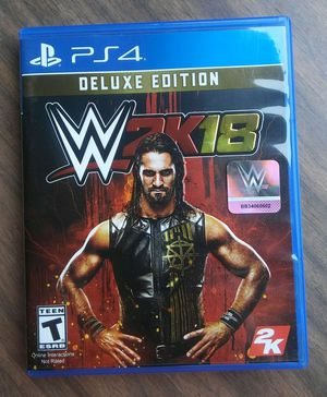 WWE 2K18 for PS4 for Sale in Livermore, CA