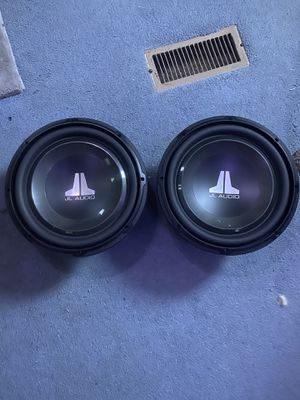 12 in JL Audio subwoofer drivers for Sale in Boothbay Harbor, ME