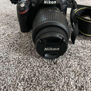 Nikon D3200 HD-SLR Camera for Sale in Stockton, CA