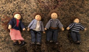 Melissa & Doug Wood Doll Family for Sale in NO POTOMAC, MD