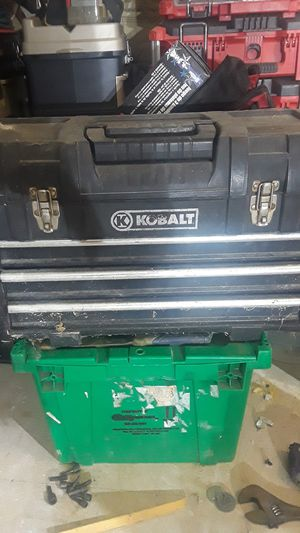 Kobalt plastic tool box 3 drawers for Sale in Greenwood, IN