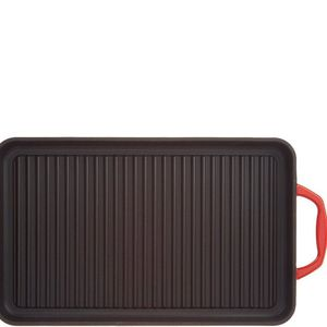 Cook's Essentials Cast-Iron Rectangular Grill Pan for Sale in Pompano Beach, FL