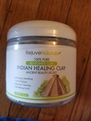 RejuveNaturals Sodium Bentonite Indian Healing Clay for Sale in Parkersburg, WV
