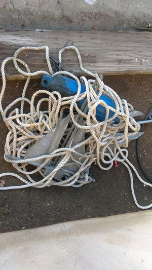 Anchor and rope freshwater for Sale in Altadena, CA