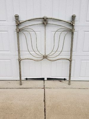 Twin steel antique headboard for Sale in Chesterfield, VA