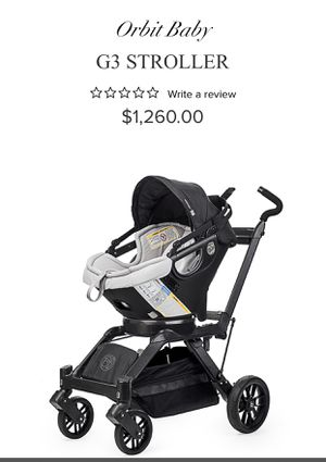 Orbitbaby G3 Stroller with Car Seat and an extra car seat base for Sale in Mint Hill, NC