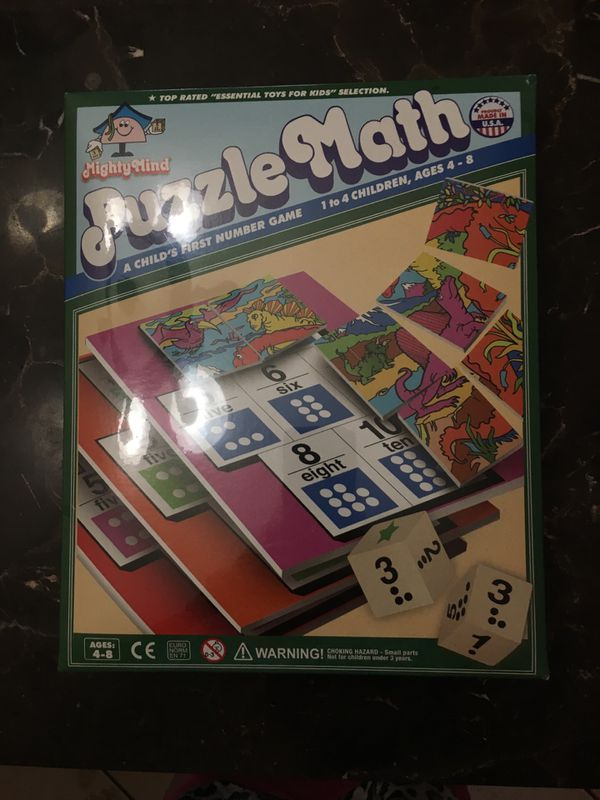 Mighty Minds Puzzle Math Game