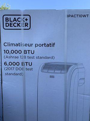 BLACK+DECKER 10,000 BTU Portable Air Conditioner with Remote Control for Sale in Riverside, CA