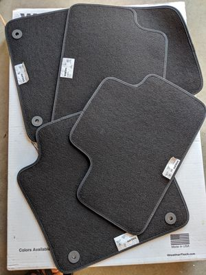 NEW 2018 2019 Genuine Volvo XC-40 Black Floor Mats OEM #31469312 for Sale in Quincy, MA
