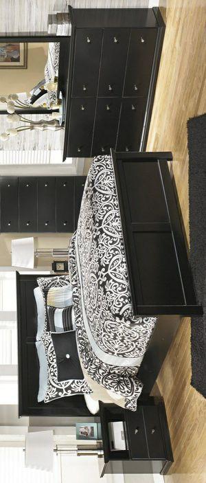 🧿IN STOCK🧿Maribel Black Panel Bedroom Set for Sale in Jessup, MD