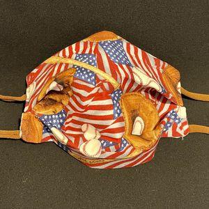 All star baseball American flag Face Mask for Sale in Chandler, AZ