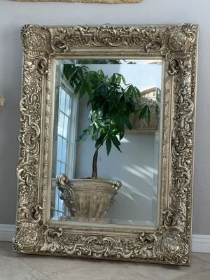 """The classique collection Rockefeller light gold, 51'x36"""" absolutely gorgeous ,this mirror is great for enter w ay or can bright up any room for Sale in Laguna Niguel, CA"""