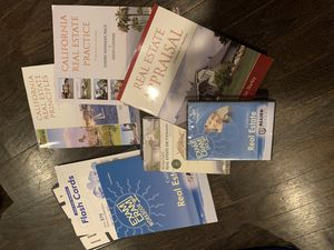 Real estate school books-new for Sale in Westminster, CA