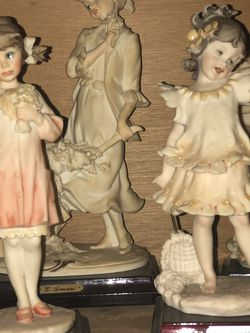 Vintage Italian Capodimonte Porcelain Figurines- $75/ea. for Sale in Morgantown,  WV