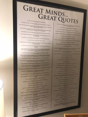 24x26 Wall Decor - Quotes for Sale in Rutherford, NJ