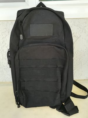 Used black Diaz Sport Tactical Molle Hydration Pack Backpack for Sale in Lakewood, CA