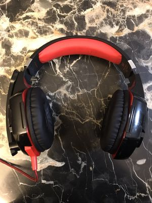 gaming headset red for Sale in West Covina, CA