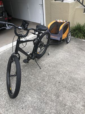 Schwinn Dog Bike Trailer - Gently Used! for Sale in Tampa, FL