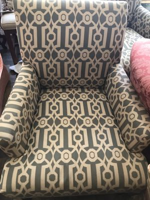 Modern teal accent wingback chair pier 1 imports ($434list) for Sale in New York, NY