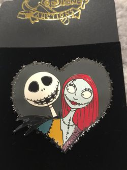 Jack sally heart pin nightmare before Christmas for Sale in Irvine,  CA