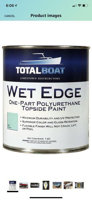 Sea Foam Topside paint Brand New (1 Gallon) for Sale in Summit, NJ