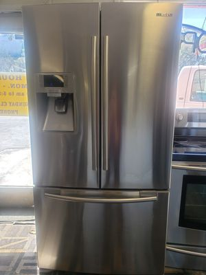 Samsung refrigerator French doors stainless steel for Sale in Tampa, FL