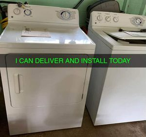Electric dryer and washer. Works great.. I can install and you can't test out before I leave for Sale in Cleveland, OH