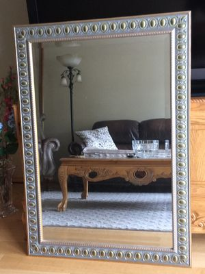 """Mirror , 42""""x29.75"""", perfect condition. Selling due to remodeling. for Sale in Champlin, MN"""