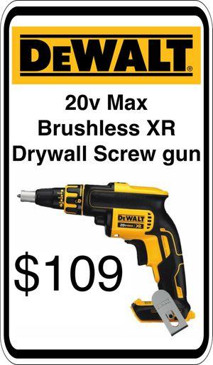 BRAND NEW - DeWalt 20v Max Drywall Screw Gun - We accept trades & Credit Cards - AzBE Deals for Sale in Sun City, AZ