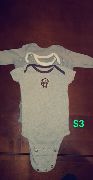 3 month onsies for Sale in Dublin, CA