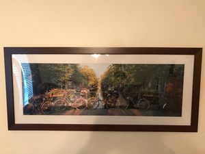 Amsterdam and bicycle artwork for Sale in Jacksonville, FL