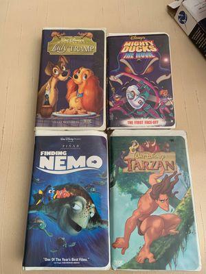 Vintage!! 1st edition Disney VHS for Sale in Denville, NJ