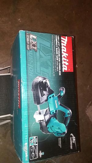 18-Volt LXT Lithium-ion cordless compact band saw tool only for Sale in Henderson, NV