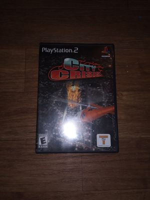 City Crisis's (Ps2, PlayStation 2) for Sale in Aurora, IL