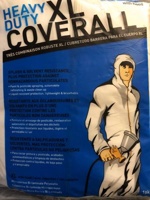 Coverall heavy duty XL for Sale in Covina, CA
