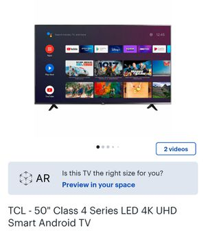 4K UHD SMART TVS FOR SALE EACH 500$ for Sale in Bakersfield, CA
