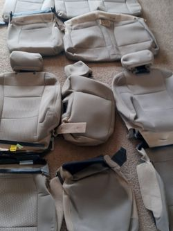 FORD-FRONT & REAR SEAT COVER [15-20 F-150 / 15-20 F-250/F-350 for Sale in Dallas,  TX