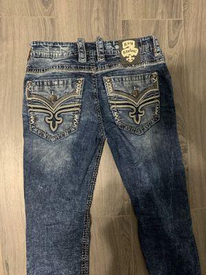Men's Rock Revival Jeans for Sale in Fresno, CA