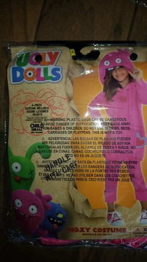 New Ugly Dolls Costume-Moxy size S 4-6 for Sale in San Diego, CA