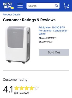 Frigidaire AC unit for Sale in Columbia, MD